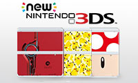 New Nintendo 3DS Cover Plates