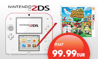 Nintendo 2DS Bundle mit Animal Crossing