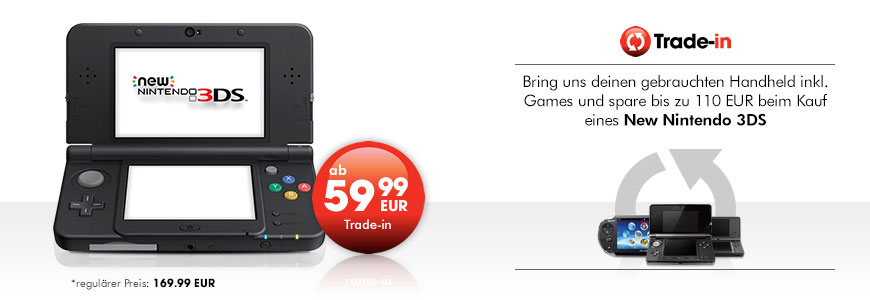 New Nintendo 3DS ab 59,99 EUR