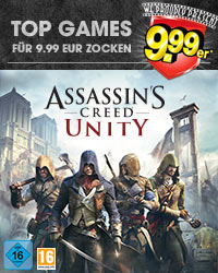 Assassin's Creed Unity für 9.99er