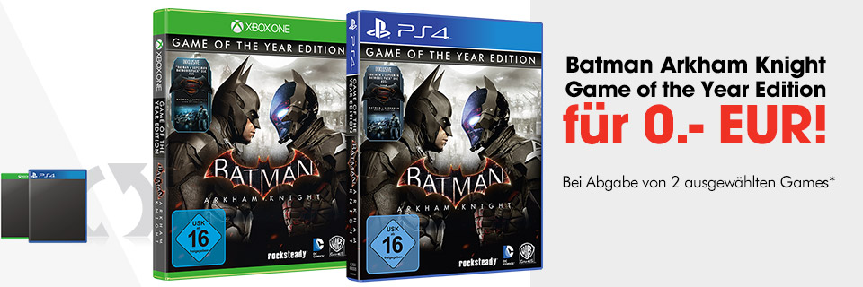 Batman Arkham Knight Game of the Year Edition für 0 EUR