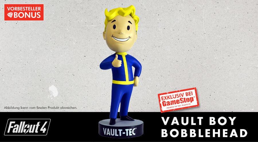 Der ewige Ja-Sager: Vault Boy als Vorbesteller-Bonus bei Gamestop - via gamestop.de