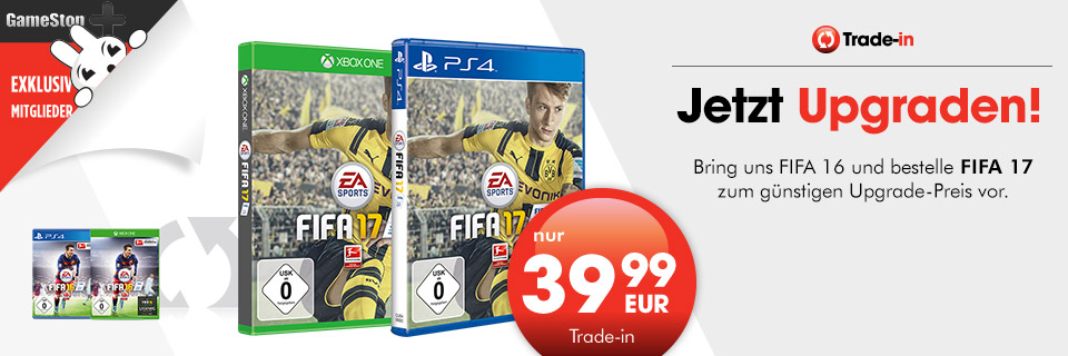 Fifa 17 Upgrade-Angebot