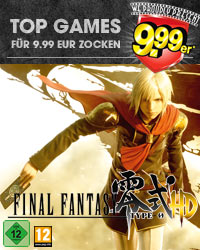 Final Fantasy Type 0 HD 9.99er