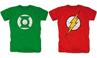 Green Lantern und Flash Tshirts