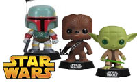 Star Wars POP! Wackelköpfe