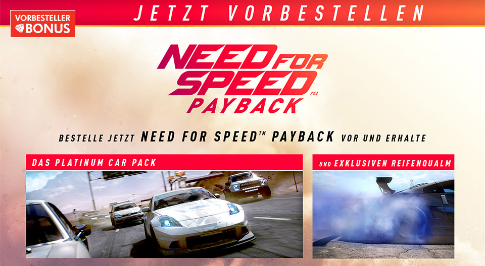 need for speed payback kaufen. Black Bedroom Furniture Sets. Home Design Ideas