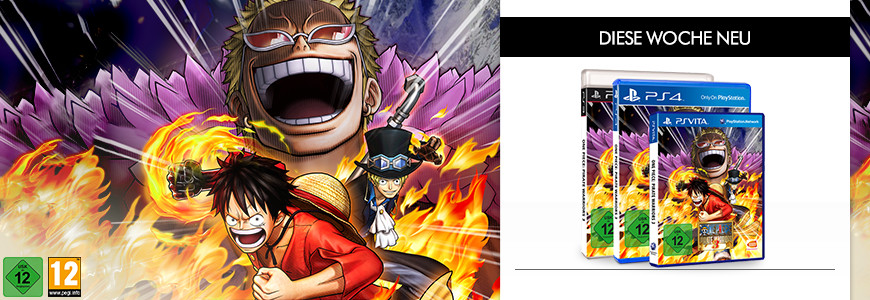 One Piece Pirate Warriors 3 diese Woche neu