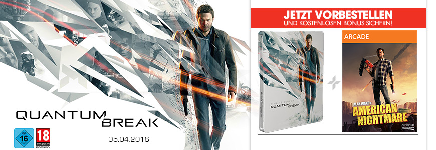 Quantum Break vorbestellen