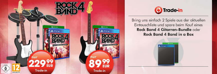 Rock Band 4 Trade-in