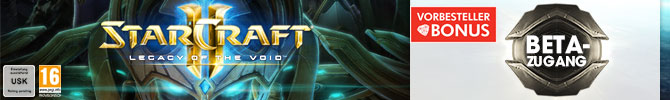 Starcraft2 Legacy Of The Void vorbestellen