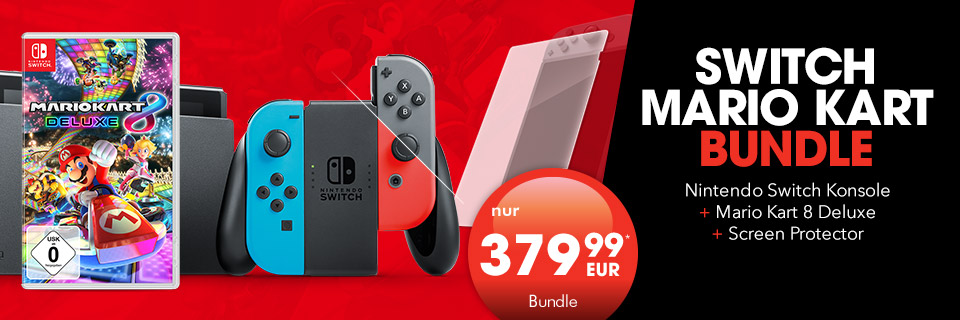 Nintendo Switch Bundle mit Mario Kart 8 Deluxe