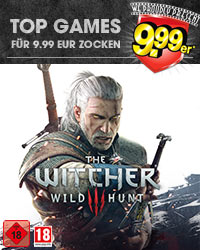 The Witcher 3 9.99er Aktion