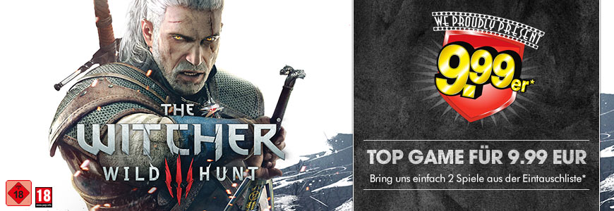The Witcher 3 für 9.99 EUR