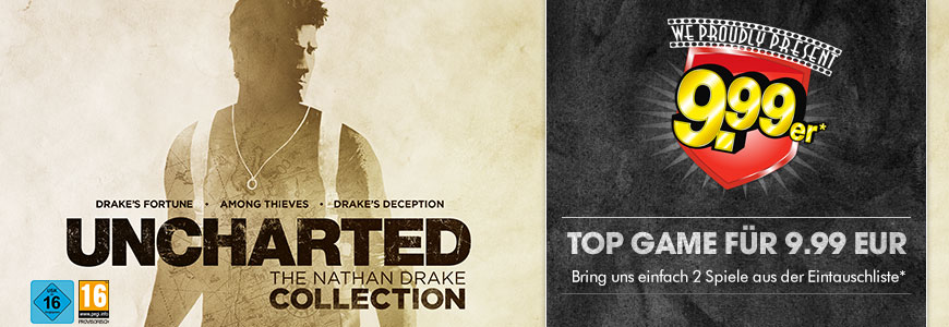 Uncharted The Nathan Drake Collection für nur 9,99 EUR
