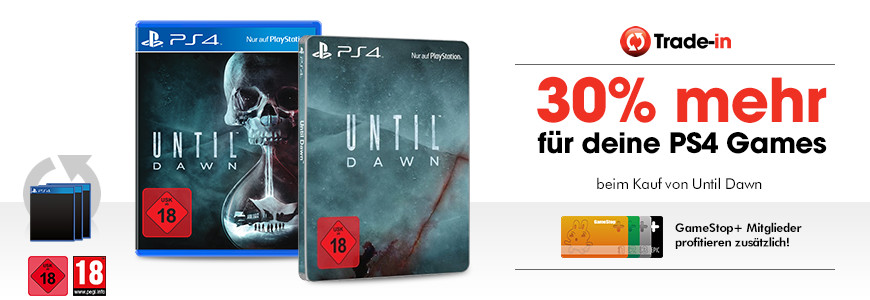 Until Dawn AnkaufsBonus