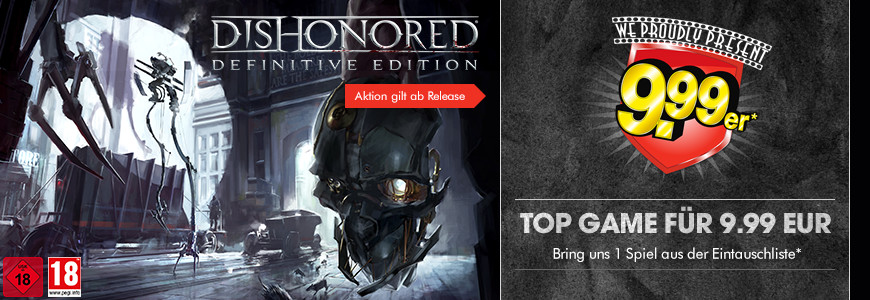 Dishonored Definitive Edition für 9.99 EUR zocken