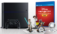 PlayStation 4 Bundle mit Disney Infinity 3.0